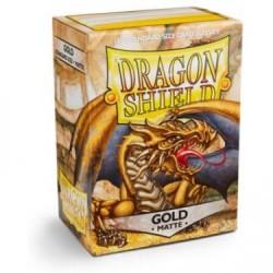 Dragon Shield 100 Gold Protectors (100 pcs.)