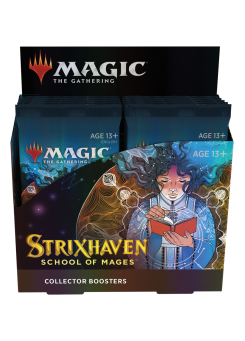 Booster box collectible Strixhaven School of Mages in English