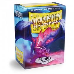 Dragon Shield 100 Purple  Protectors (100 pcs.)