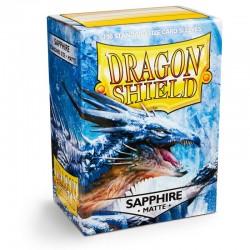 Dragon Shield 100 Sapphire Protectors (100 pcs.)