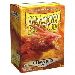 Dragon Shield 100 Clear Red Protectors (100 pcs.)