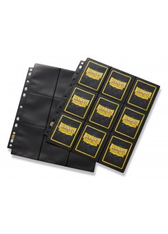 Pocket Pages Dragon Shield  (50 pieces) Side loading