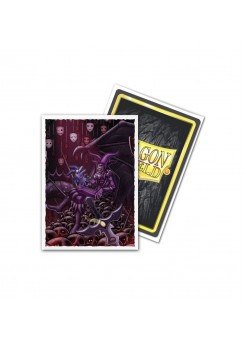 Dragon Shield mate Saturion (100 pcs.)