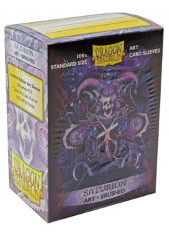 Dragon Shield brushed  Saturion (100 pcs.)