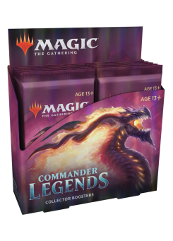 Booster box collectible booster packs Commander Legends in English