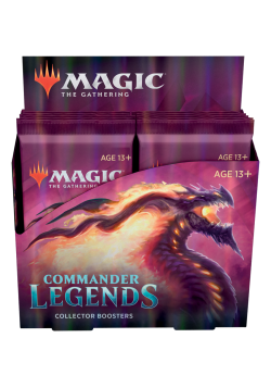 Booster box collectible booster packs Commander Legens in English