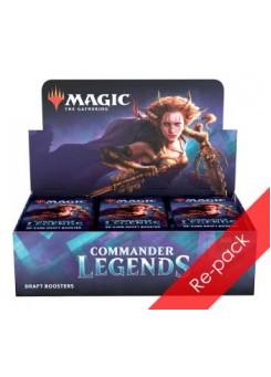 Re-pack booster box Commander Legends