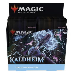 Booster box collectible booster packs Kaldheim in English