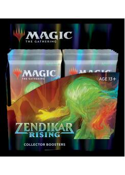 Booster box collectible booster packs Zendikar Rising in English