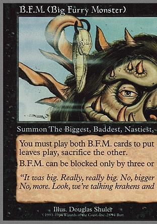 B.F.M. (Big Furry Monster)