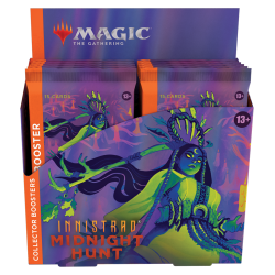 Booster box collectible booster packs Innistrad: Midnight Hunt