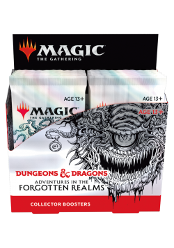 Booster box collectible booster packs Adventures in the Forgotten Realms